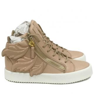 Giuseppe Zanotti London May High Top Zipper Sneaker