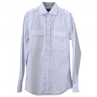 Ralph Lauren Purple Label cotton striped shirt