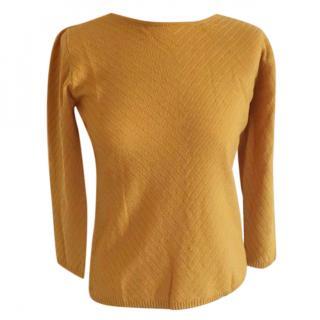 Max Mara cashmere + virgin wool fine knit top