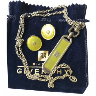 Givenchy Runway Vintage Necklace and Earrings set