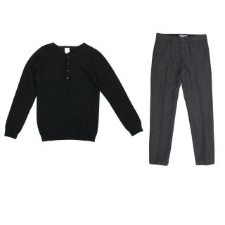 Bonpoint Trousers and Cashmere Jumper  Set