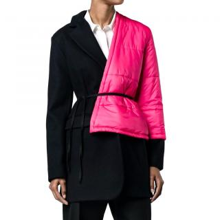 Jacquemus asymmetrical wool coat
