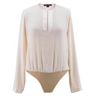 Ralph Lauren Collection Cream Silk Body