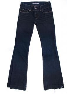 J Brand Dark Wash Flared Jeans