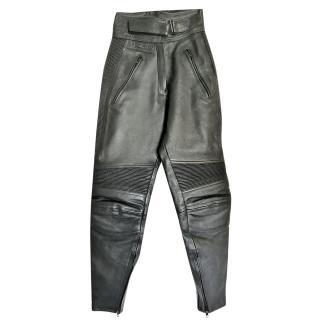 Belstaff Ladies Leather Motorcycle Trousers