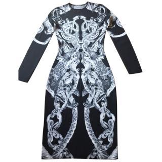 Alexander McQueen fitted dress