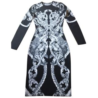 Alexander McQueen fitted dress