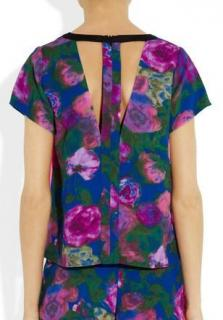 Sandro cut-out back top