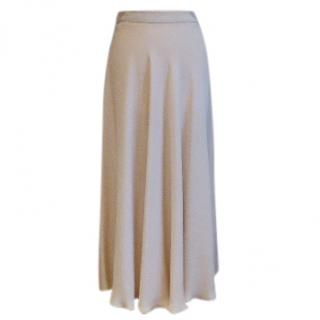 Maxmara midi skirt in nude