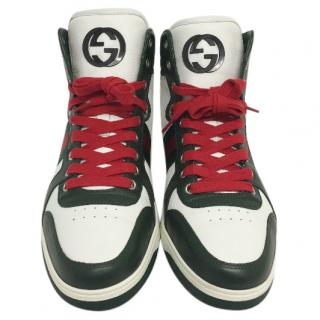 Gucci hi-top trainers