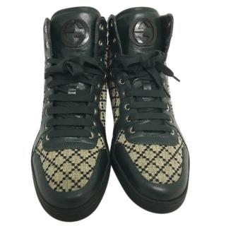 Gucci Coda diamond hi-top trainers