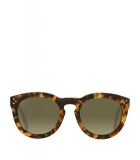 Celine Thin Preppy Tortoiseshell Sunglasses