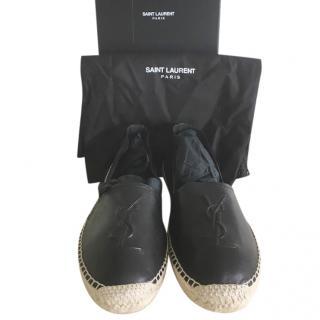 Saint Laurent  black espadrilles