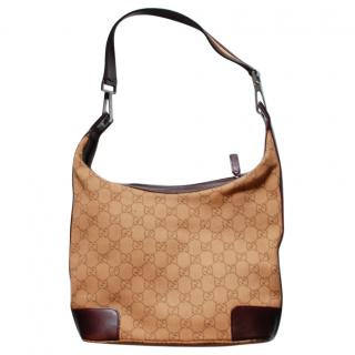 Gucci Brown Hobo Bag
