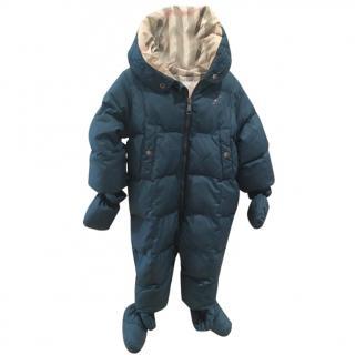 Burberry baby suit
