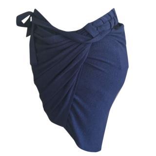 La Perla blue coverup
