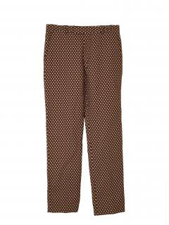 Marni Gold/Brown Patterned Trousers