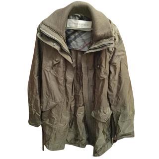 Burberry Khaki Rain Jacket
