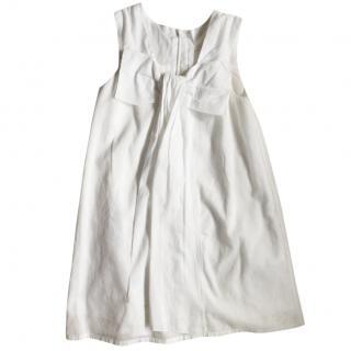 Chloe White Cotton Dress