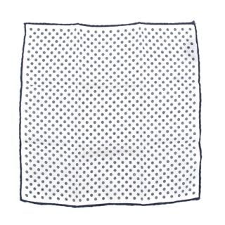 Church's Linen Printed Pocket Square
