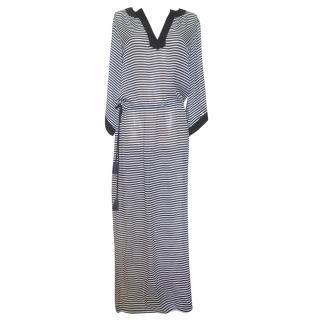 Tory Burch Striped Maxi Dress