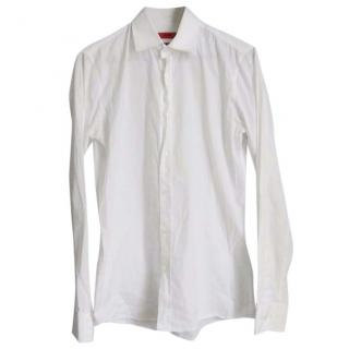 Hugo Boss mens white shirt