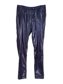 Preen by Thornton Bregazzi Navy Shiny Trouser