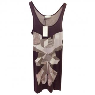 Jonathan Saunders Black and White Tank Dress