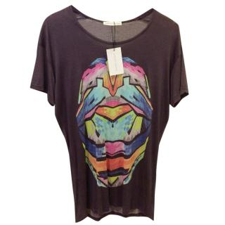 Jonathan Saunders Printed Oversized Jersey T-shirt