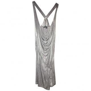 McQ silver dress
