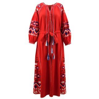 Bespoke Maxi Printed Dress
