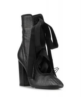 Valentino rockstud tie boots