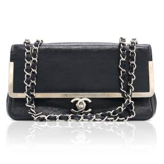 Chanel Small Patent Chain Flap Bag