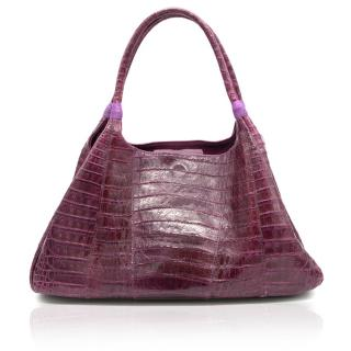 Carlos Falchi Crocodile Bag