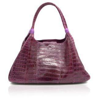 Carlos Falchi Crocodile Bag