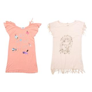 Sonia Rykiel and Swildens Girls T-Shirt Set