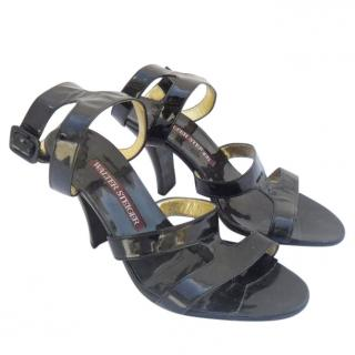 walter steiger black sandals