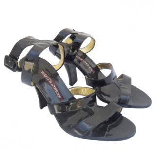 walter steiger black sandals
