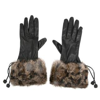 Bespoke Leather and Fur Gloves