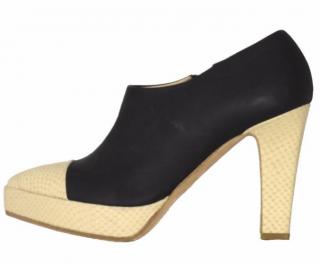 Acne Studios leather heels