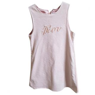 DIOR BABY GIRL PINK DRESS