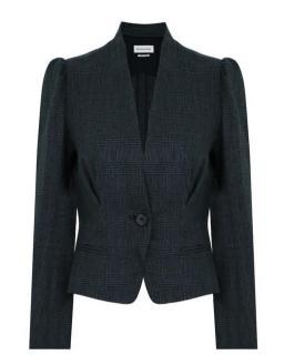 Isabel Marant Jardy linen blazer jacket herringbone