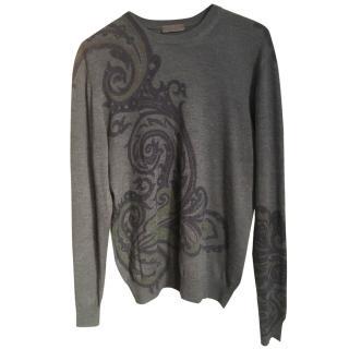 ETRO grey sweater