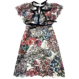 Elie Saab Silk Dress