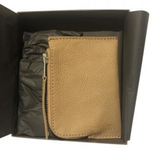 Rick Owens Small Zipped Wallet