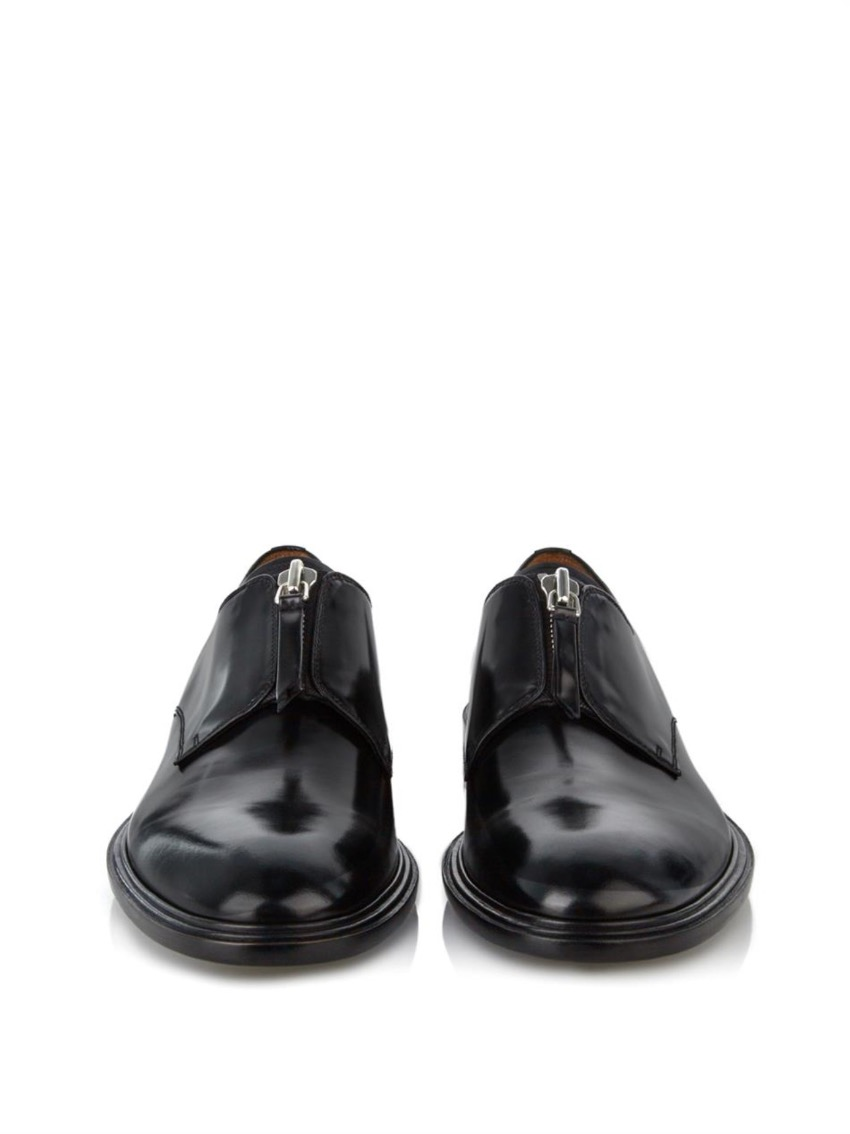 Givenchy Zipup Derby Shoes  c26196a63041