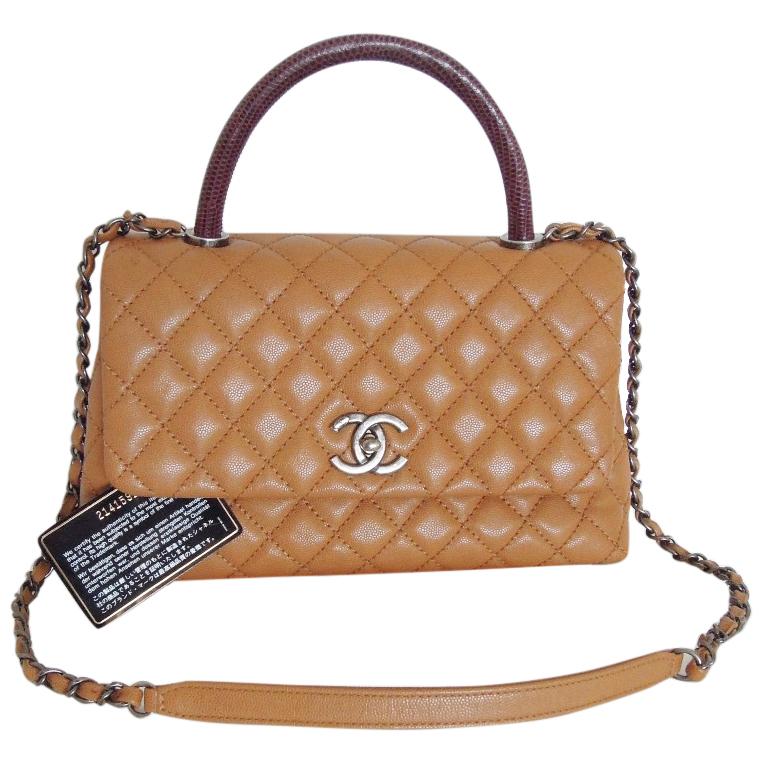 fd104ce06928a0 Chanel Coco Bag Lizard Handle | HEWI London