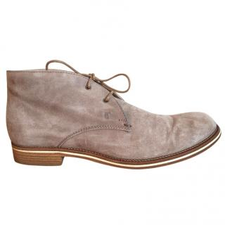 TOD'S No_code Suede Desert Boots natural colour