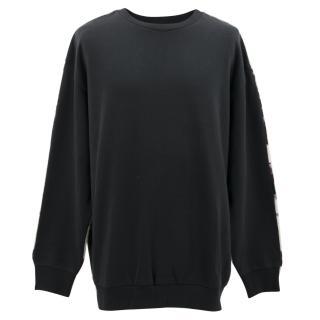 Philip Lim Navy Fair Aisle Sweater