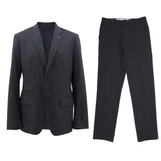 J.Lindeberg Dark Blue Wool Suit